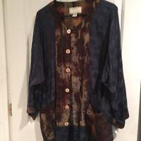 KUSNADI NY, Women's Wearable Art Tunic / Blouse
