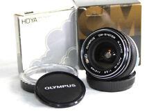 OLYMPUS G.ZUIKO AUTO-W 1:3.5 F=21mm Wide Angle Lens. OM-1n OM-2n OM-3 OM4 OM-10