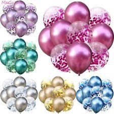 5/10pcs 12 inch Wedding Birthday Balloons Confetti Latex Balloons Party Decor