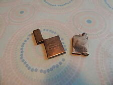 ENGRAVED TIFFANY & CO STERLING ULTRA-THIN LIGHTER NEEDS A FLINT NICE INTNTL SALE