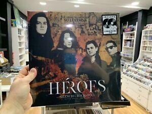 HEROES DEL SILENCIO 2 LP + 2 CD ROCK & ROLL  SEALED 2021 NETFLIX