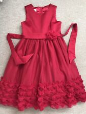 TKMAXX CINDERELLA 7 Year Old Girls Summer Holiday Christmas Party Red Dress