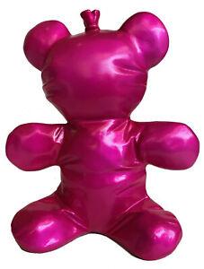 Squishy Balloon Bear Teddy From Fibreglass Pop Art Figure Sculpture - 20433