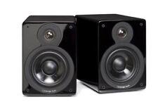 Cambridge Audio MINX XL Regal-Lautsprecher Paar Hochglanz Schwarz