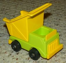 Vintage - Fisher Price Little People - Lift And Load Depot - Dump Truck