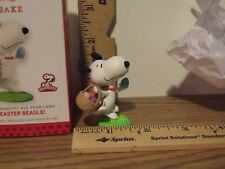 Hallmark 2014 It's The Easter Beagle! Snoopy #9 in Series Happiness is Peanuts