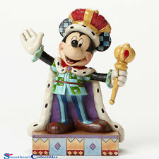 Jim Shore Disney 4048654 Mickey King for a Day 2015