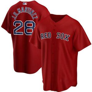 J.D. Martinez Boston Red Sox Alternate Replica Player Name Jersey - Red