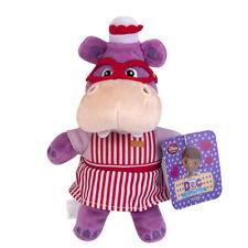 "Disney Store Jr Doc McStuffins Hallie the Hippo Nurse Plush Doll Toy Gift 8"""