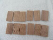 Shingles for dollhouse or other project