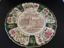 Vtg 1976 MASONS IRONSTONE Xmas Christmas Plate HOLYROOD PALACE EDINBURGH MINT