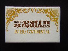 HOTEL BALI BEACH INTER-CONTINENTAL SANUR INDONESIA 8511 MATCHBOX