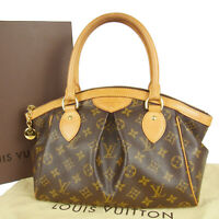 Auth LOUIS VUITTON M40143 Monogram Tivoli Plaits Shoulder Hand Bag 17380bkac