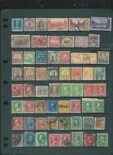 USA, lot 2 nice page of early stamps interesting selection, see SCAN (704]
