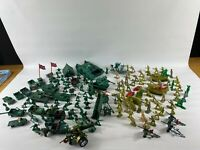 Huge joblot plastic toy soldier figures  tanks and vehicles