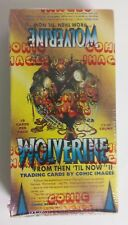 Wolverine  From Then Til Now II Trading Cards 1992 Comic Images Box Sealed Packs