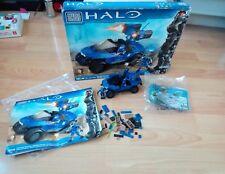 Halo 97159 - Mega Bloks Blue Ultimate Collectors Series Rockethog - Warthog