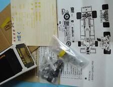 Lotus 78 JPS Mk3 - Andretti/Peterson/Nilsson'77-78 - SRC 1/43 white metal KIT 30