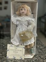 """Country Store Doll"" Franklin Heirloom Doll Collection"