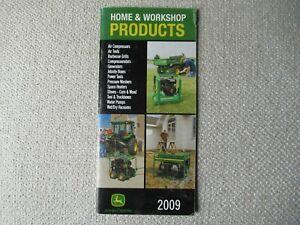 John Deere home workshop products brochure generators air power tools compressor
