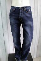 ROY ROGERS Jeans Uomo Taglia 33 / 47 Pantalone Regular Cotone Pants Men Man