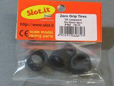 SLOT. IT 1:32 SLOT CAR ZERO GRIP TIRES 'Z0' COMPOUND 19 X 10mm 4 pcs. SIPT07