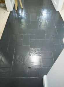 ☆ 1 LITRE DARK GREY Industrial Floor Paint EXCELL - Acrylic/water based☆