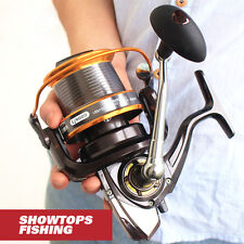 13BB Large Size Long Shot Spinning Fishing Reel Saltwater Sea Fishing Reels LJ