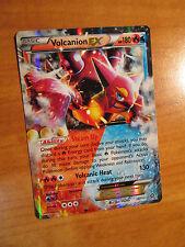 LP Pokemon VOLCANION EX Card STEAM SIEGE Set 26/114 XY X and Y Ultra Rare