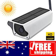 Full HD 1080P Solar Wifi P2P Outdoor Wireless Security IP Camera Night Vision-AU