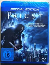 Priest | Special Edition | Paul Bettany | 2011 | Blu-ray NEU OVP