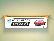 Volkswagen MK1 Polo BANNER Workshop Garage Classic VW car show Display