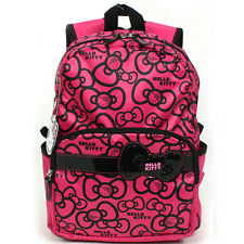 Sanrio Hello Kitty Brand New School Bag Backpack for Girls, Kids, Pink