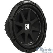 (2) Kicker 43C104 600W 10 Inch Comp Series Single 4-Ohm Car Subwoofers