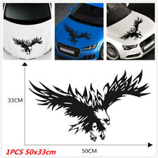 Universal Car SUV Engine Hood Flying Eagle Graphic Sticker Decoration 50x33cm