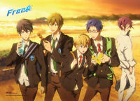Free! - Iwatobi Swim Club Group Sunset Wall Scroll Poster NEW
