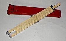 New listing Dietzgen Slide Rule Log Duplex Decitrig 1947 Keuffel & Esser Co. 4081-3 w/Case