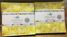 Flaurie &Finch Daisy Blue ,Charm Packs 5X5 Precut Quilting Fabric 42 Pcs Each