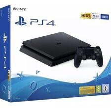 PS4 500GB SLIM BLACK F CHASSIS - PLAYSTATION 4 - Come Nuova + 3 Giochi