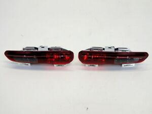 Mini Cooper Black Rear Fog Lights OEM NEW 63212225778 63242221488 11-15 R5x