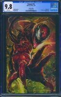 Venom 14 (Marvel) CGC 9.8 White Pages Battle Lines Virgin Cover Variant