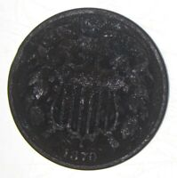 1870 Two-Cent Piece - Walker Coin Collection *961
