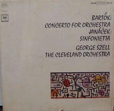 Bartok: Concerto for Orchestra Janacek: Sinfonietta George Szell 102216LLE