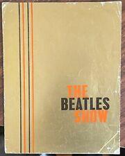 More details for gold foil concert tour programme with insert the beatles 1st nov - 13th dec 1963