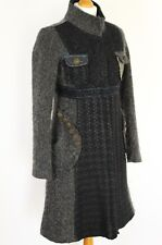 DESIGUAL Ladies STUNNING Grey COAT / Jacket - Size 36 - UK 8