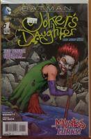 BATMAN JOKER'S DAUGHTER #1 - ONE-SHOT - NEAR MINT - DC 2014