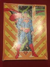 DC Comics Superman Jigsaw Puzzle 200 Big Pieces 1989 Golden Complete NEW