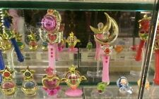 BANDAI OFFICIAL 20th ANNIVERSARY SAILOR MOON STICK & ROD SET PART 1 COLLECTION