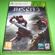 RISEN 3 TITAN LORDS NUEVO Y PRECINTADO PAL ESPAÑA XBOX 360