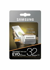 Samsung Memory Evo 32GB Micro SDHC Card 95MB/s UHS-I U1 Class 10 with Adapter